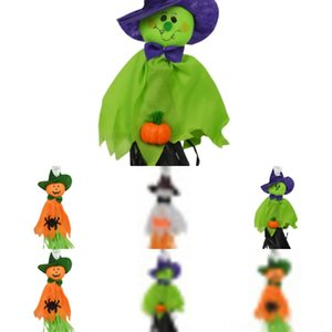 TnnIe Party ghosts Decoration Spider Spider Ornament pumpkins Black Spider Haunted Props House Prop Colorful pendants Plush DBC VT