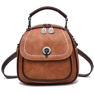 Litchi Verschluss-Schnalle Tasche Weibliche Schultertasche Shell Pouch Diagonal-Paket