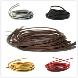 Free Shipping Jewelry 3mm x1mm DIY Faux Suede Cord Lace Leather Cord Flat 20 Meters Lot