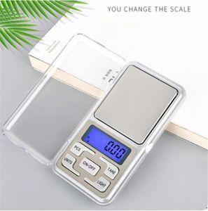 Mini Taşınabilir Elektronik Ölçek 200g Doğru 0.01g Takı Elmas Ölçekli Denge Ölçekli LCD Ekran Perakende Paketi