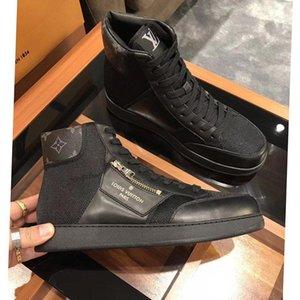 Versión alta, Nueva lista de Mens transpirable zapatos casuales para hombre de la moda zapatos, la personalidad de la cremallera de la decoración para hombre de alta zapatos superiores del deporte ocasional 0041