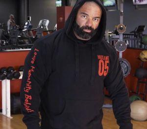 Mutant Men's Winter Wool Loose coat Singlets Sweatshirts Mens Fleece Hoodies Stringer Bodybuilding Fitness Shirts Suitable33