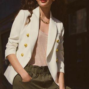 Women Blazers Autumn Fashion Solid Coat Ladies Office Suit Long Sleeve Slim Blazers Female Work Jacket Coats 050924