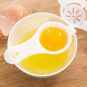 계란 화이트 도구 계란 노른자 분리기 화이트 노른자 여과 분리 계란 디바이더 DHA907를 누출 주방 액세서리 긴 손잡이 플라스틱