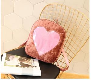 Дизайнер-Корея Стиль Мода голограмма лазерный рюкзак девушки школы сумка женщин Красочные Metallic Silver Laser Услышь Голографическая Рюкзак