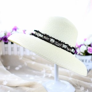 Hot Sale Summer Outdoor Teenager Straw Hats England Style Beach Sun Hat Women Wide Brim Hats Sun Protection Hat