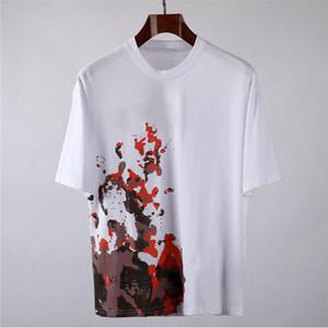 Новая мода Мужские Стилисты T Shirt Mens вскользь короткими рукавами Летние Пары Высокое качество тройники