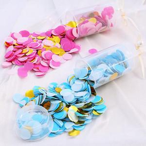 Pousser le papier Confetti Wedding Party Decoration Paper Tube Pousser usuraires papier Décoration bricolage Fournitures Push-Pop Sea Shipping IIA498