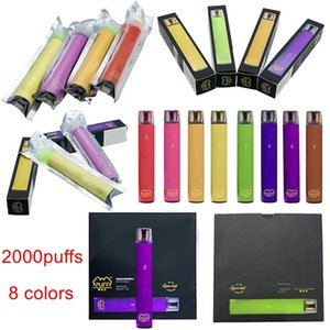 2000Puffs Puff Max Dispositivo Vape Vape 1200mAh Bateria 8.5ml Vape Carrinho Puff Max Vape Pen Pods Starter Kits