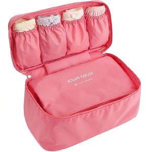 YIYONGFINE New Travel Bra Bag Underwear Organizer Bag Cosmetic Daily Toiletries Storage Bag Womens High Quality Wash Case