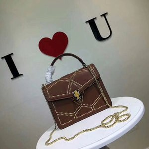 2020Brand nueva alta calidad de la marca de lujo de cuero cartera diagonal bolsa de straddle diseñador senior de lujo de las mujeres del hombro del bolso