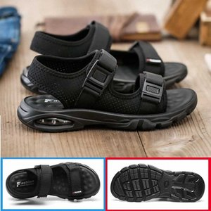 2020 New Sandals For Mens Shoes Slippers Black Breathable Fashion Casual Air Cushion Soft Comfort Sports Platform Summer Bona wmcV#