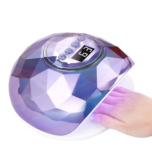 Beautiful New appearance and high-power 86w Coloful Professional LED Nail Lamp