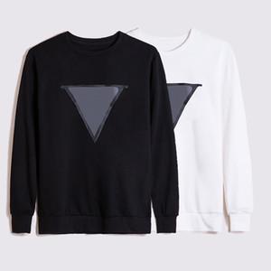Hochwertige Herrenmode lose Pullover Frauen Casual Hoodie paar einfache gedruckte Pullover Größe S 2XL