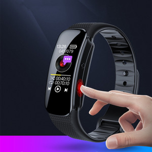 pulsera de voz portátil activar la grabadora de voz digital de 8GB 16GB 32GB profesional pulsera de reloj inteligente Mini dictáfono pluma con reproductor de MP3