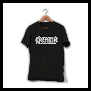 Kreator Men T Shirt Threahs Metal Band Tee Shirt Voivod Exodus Sodom Coroner