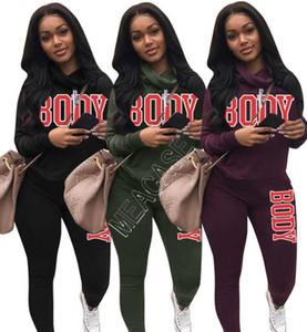 two piece outfits fall women s two piece jogging suits designers clothes 2020 tracksuit conjunto de 2 piezas de ropa de mujer NEW D92303