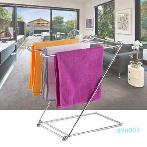 Prestigio de la vida diaria Baño estable a prueba de herrumbre cocina Trapos Espacio Tabla casera ahorro de acero inoxidable de toallas plegable