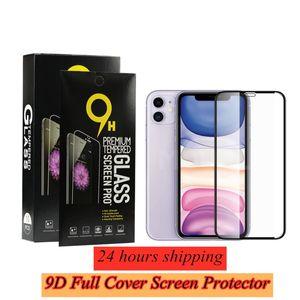 9D 9H 0.3mm écran en verre trempé de protection pour iPhone 12 11 11 Pro Max XR X XS MAX avec Retail Box