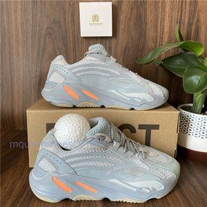أبي حذاء كاني ويست الاحذية 700 موجة عداء الرجال رياضة المرأة أحذية رياضية القصور الذاتي الثلاثي الأسود النظير تيفرا موجة عداء VANTA المتسابق