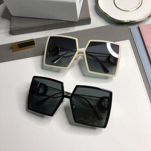 Мода лето пляж очки женщина Overszie Goggle Очки солнцезащитный для парня девушка UV400 Лучших качеств с подарочной коробкой