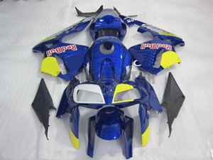 Gifts bodykits ABS white blu and yellow Fairings for CBR600RR 2005 2006 F5 CBR 600 RR CBR 600RR 05 06 motorcycle bodywork kit Injection mold