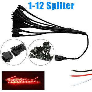 12st RGB Glitterstreifen-Lichtleiste dekorative LED-Neon-Lampe für Motorrad NJ88
