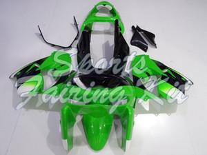 Мотоцикл обтекатель для Zx9r 1998 - 1999 Зеленый Черного обтекателя Zx9r 98 обтекатели Zx 9R 99