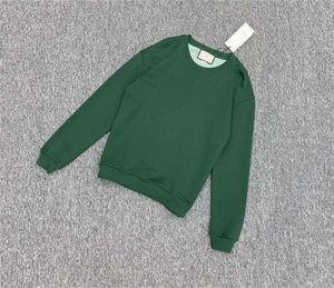 Hoodie der Männer 20SS Herbst Mode-Rundhalsausschnitt Brief Tier Stickerei Hoodies Terry Trend Tops Männer Frauen Pullover
