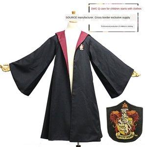 WTnl7 autentica Harry vestiti magici abbigliamento veste Acting School abbigliamento Potter Mantello uniforme del Capo cosplayclothes guidata veste