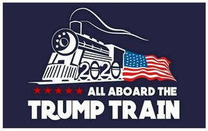 Trump Train Wall Stickers Donald Window Sticker US Election Home Decor Free Shipping GWC1076