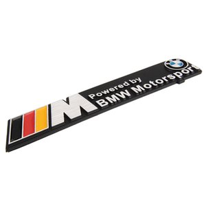 3D Car Body Trunk Sticker Fender Emblem Sticker Decal M-Power Motorsport