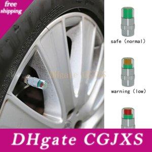 4pcs / Set Car Tyre Tire Pressure Air Alert Indicatore valvola dell'automobile Stelo Monitor Sensor Cappellini Car Tyre 2 0,2 bar (32psi) o 2 0,4 bar (36psi)