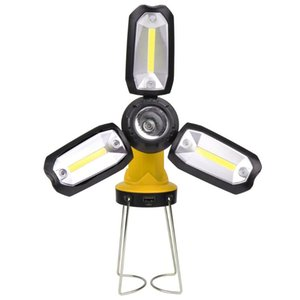 Portable Spotlight Work Light USB Rechargeable Battery Outdoor Light Camping Auto Repair Emergency Universal Lamp