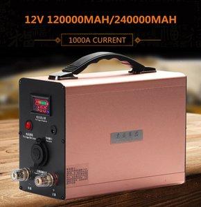 Big-courant 1200A 12V 120AH / 240Ah batteries Li-ion lithium-ion pour moteur / voiture démarrage d'urgence / extérieur / inverseur de source d'alimentation