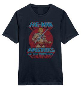 He-Man - Masters Of The Universe Logo - Mens Oficial Camiseta