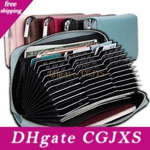 36 Porte-cartes Machines à sous Wallet IRF Porte-cartes Porte-cartes accordéon Organisateur cuir tirette Wallet Sacs de rangement