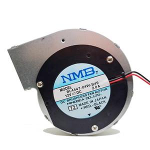 NOVO Para NMB BL4447-04W-B49 11028 12V 2A 2wire turbina do ventilador centrífugo quadro soprador de metal