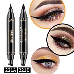 Farbe Liquid Eyeliner Doppelkopfdichtung Glitter Flüssigkeit Eyeliner Pen Eyeliner Schwanzdichtung Feder-Verfassungs-Großhandel