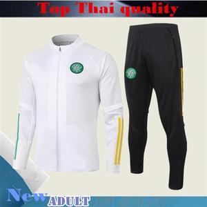 New 2020 2021 Celtic Soccer Jacke Anzug 20/21 Jacke Fußball-Trainingsanzug Sport langen Abschnitt Männer Kleidung Trainingsanzug läuft