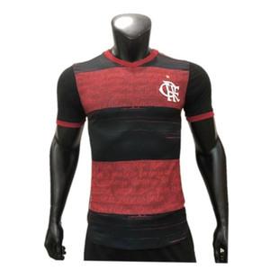 Jersey 2021 # 9 GABRIEL B. GERSON DIEGO Jersey # 7 E.RIBEIRO # 21 PEDRO Vitinho Jogador de futebol 2020/21 Flamengo Player versão da camisa do futebol