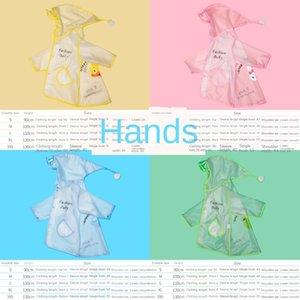 Bebek ceket 1-3 yaşında 2 çocuk erkek anaokulu pelerin Cloak çocuk yağmur çizmeleri yağmur çizmeleri elbise kız panço
