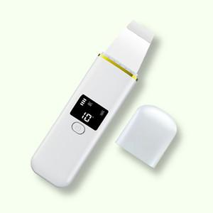 Ultraschall Haut Wäscher Intensivreinigung Gesicht Scrubber vibrierende Gesichtsreinigung Haut Spatula Peeling Schönheit Instrument Gerät