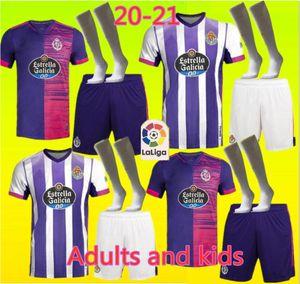 Yeni 20 21 Real Valladolid futbol forması 2020 2021 Óscar Plano FEDE S. R. Alcaraz ss Sergi Guardiola camisetas de fútbol erkekler çocuklar Futbol sh