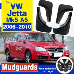 Für VW Jetta Mk5 A5 Bora 2005-2010 Mudflaps Spritzschutz vorn hinten Schmutzfänger Kotflügel 2007 2008 2009 2011 Fender Set Mud Flaps