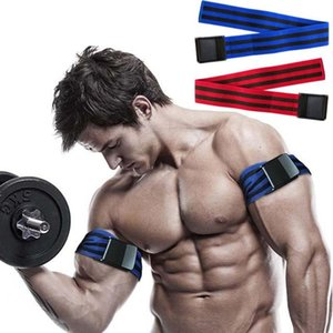 Belt training occlusione impacchi Pro fasce di resistenza Bands fitness piedino del braccio di esercitazione Blaster elastico per il flusso sanguigno