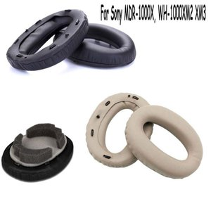 Ear Pads Cushion for Sony MDR-1000X WH-1000XM3 WH-1000XM2 Headphone Replacement Leather Earpads Ear Cushion Cover Earmuffs