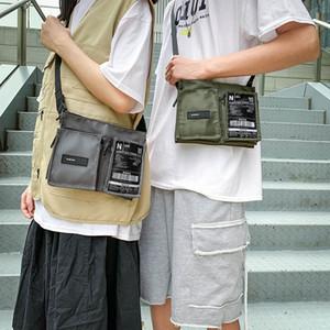 NEW Men Small Shoulder Bag Fashion Street Fashion Bag Shoulder Japanese Functional Wind Tooling Messenger Brand