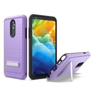 cgjxsFor Coolpad Vermächtnis für LG G8 Thinq Hybrid-Rüstungs-Kasten Weiche Tpu Pc Ständer Halter-Telefon-Abdeckung A