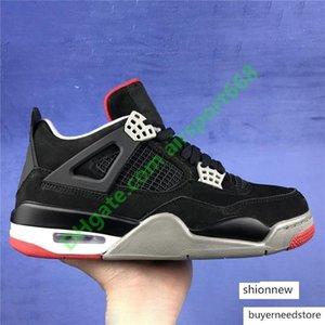 4 4s raffreddano i pattini grigi Jumpman di pallacanestro degli uomini 07 scarpe da Bred Thunder Black Cat Green Grow Cactus Jack Rapotors Mens Sneakers Designer di lusso